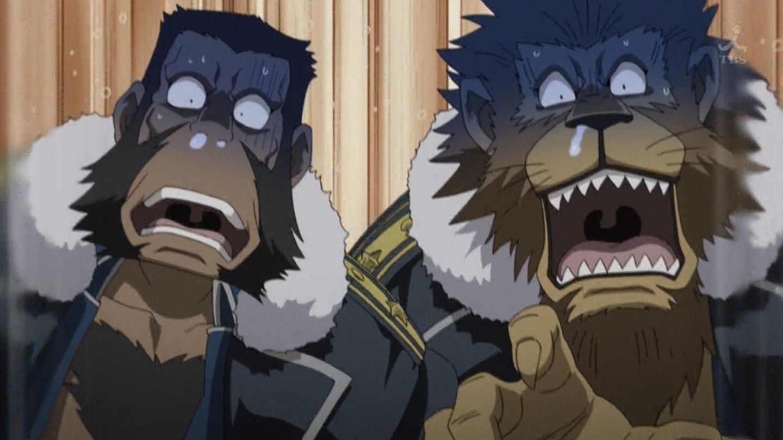 Fullmetal Alchemist Brotherhood 41 Gin No Dangan